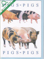 Pigs Greetings Card - Richard Partis For Clanna Cards