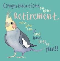 Congratulations On Your Retirement Greetings Card - Emma Ball