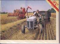 Corn For Harvesting Greetings Card - Malcolm Root