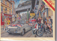 Cortina In The Spirit Of 1966 Greetings Card - Steven Binks