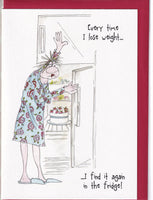 Every Time I Lose Weight Camilla & Rose Greetings Card