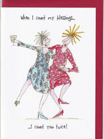 When I Count My Blessings Camilla & Rose Greetings Card