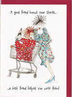 A Good Friend Knows Your Stories Camilla & Rose Greetings Card