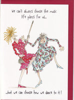 Dance To Life's Music Camilla & Rose Greetings Card