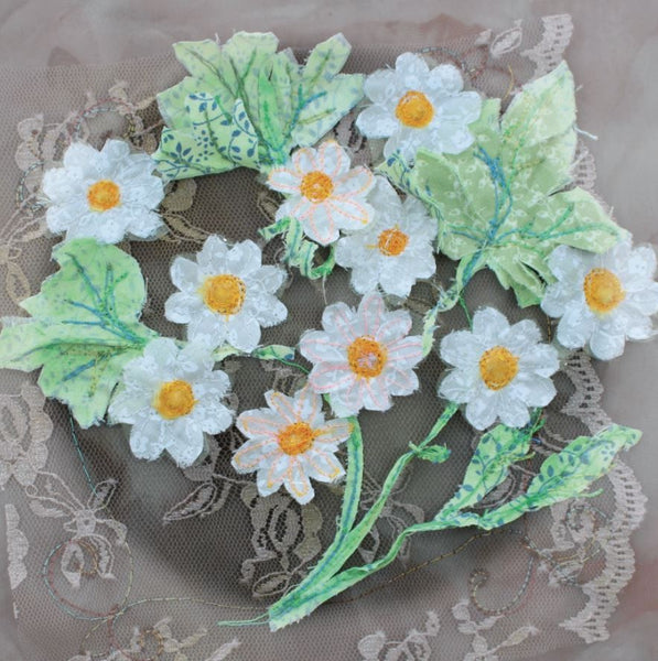 Daisy Flowers Greetings Card - Abigail Mill