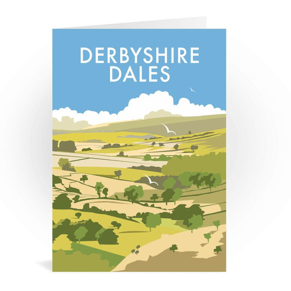 Derbyshire Dales Greetings Card - Dave Thompson, Peak District
