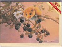 Dormouse Greetings Card - David Lawrence