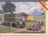 Farmyard Banter With The Cattle Truck Greetings Card - Malcolm Root