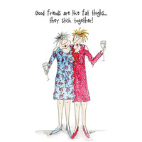 Good Friends Camilla & Rose Greetings Card