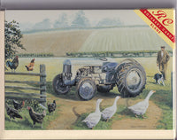 Ferguson TE20 Tractor Greetings Card - Trevor Mitchell