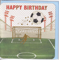Football Birthday Card - Nigel Quiney