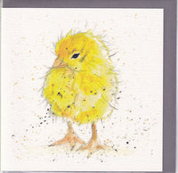 Chick Pencil Collection Greetings Card - Sarah Boddy