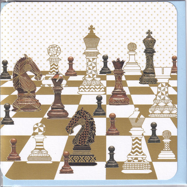 Game Of Chess Greetings Card - Nigel Quiney
