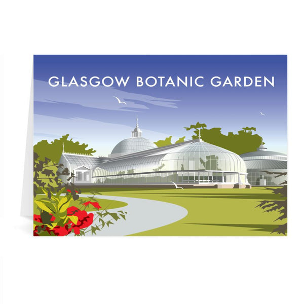 Glasgow Botanic Garden Greetings Card - Dave Thompson