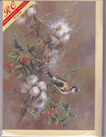 Goldfinch Bird Greetings Card - Sonya Marshall