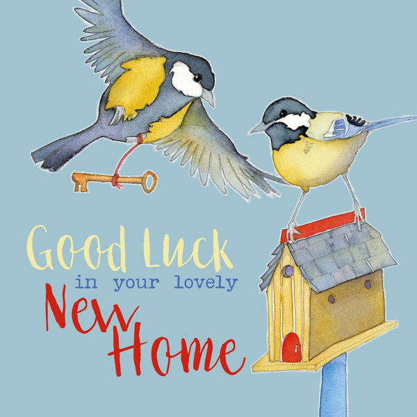 Good Luck In Your Lovely New Home Greetings Card - Emma Ball