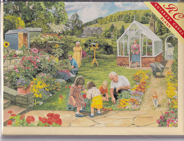 Grandad's Garden Greetings Card - Trevor Mitchell