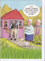 Wendy House Garden Shed! Greetings Card - Gardeners Weakly