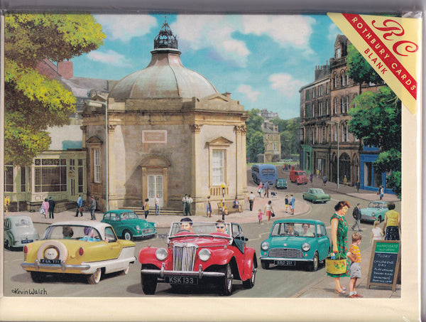 Happy Days At Harrogate Yorkshire Greetings Card - Kevin Walsh