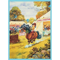 Highly Recommended Gymkhana Greetings Card - Thelwell horses