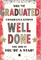 You've Graduated Congratulations Greetings Card - Nigel Quiney
