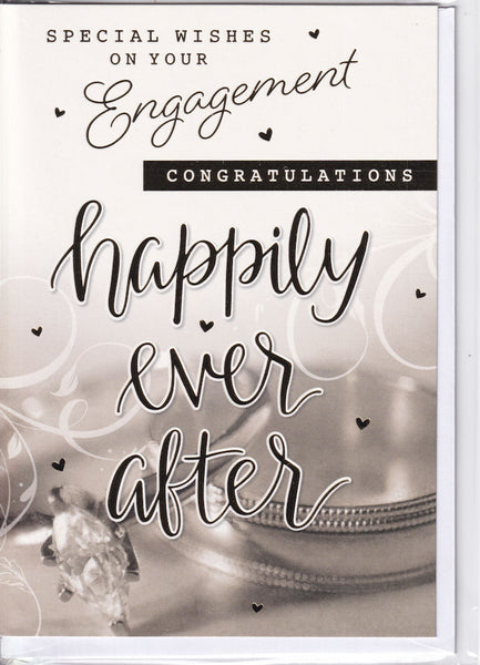 Special Wishes On Your Engagement Card