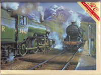 K4 Steam Trains And Ben Nevis Greetings Card - John Austin
