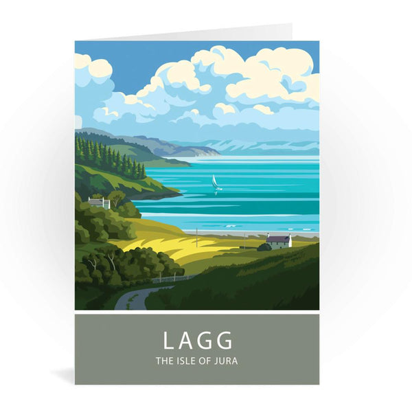 Lagg The Isle Of Jura Scotland Greetings Card - Stephen Millership