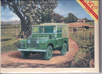 Land Rover Series One Greetings Card - Trevor Mitchell