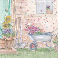 Gardening Glitter Birthday Card - Nigel Quiney