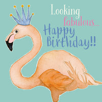 Looking Fabulous...Happy Birthday!! Birthday Card - Emma Ball
