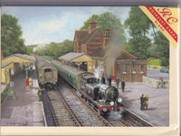Memories Of Sheffield Park Railway Greetings Card - Chris Woods