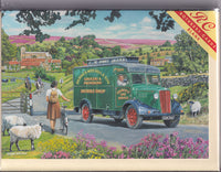 Mobile Shop In The Countryside Greetings Card - Trevor Mitchell