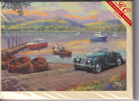 Morgan Car At The Lakes Greetings Card - Kevin Walsh