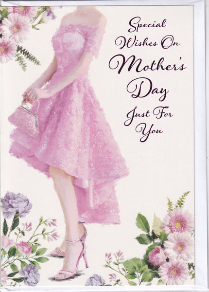 Special Wishes On Mother's Day Just For You Card