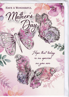 Have A Wonderful Mother's Day Butterflies Mother's Day Card