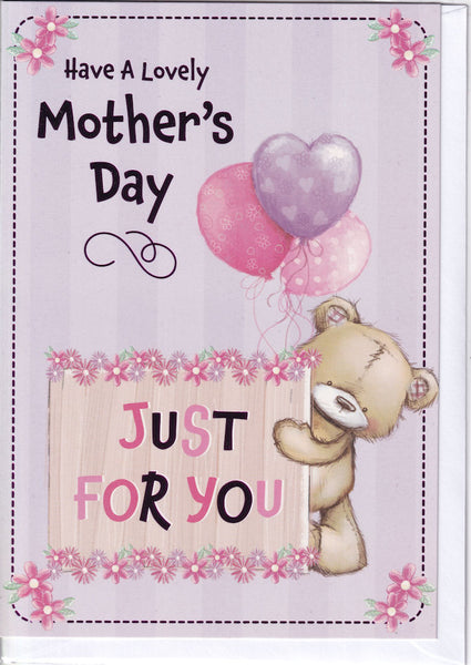 Teddybear Have A Lovely Mother's Day Card