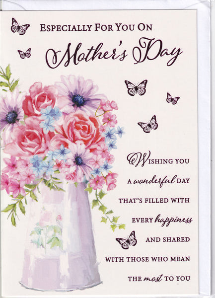 Especially For You On Mother's Day Card