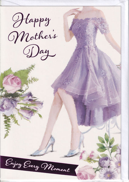Happy Mother's Day Enjoy Every Moment Mother's Day Card
