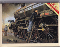 Pride Of Liverpool Steam Train Greetings Card - Malcolm Root