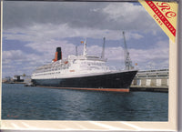 Queen Elizabeth 2 Cruise Liner QE2 Greetings Card