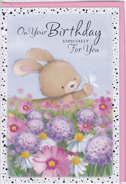 On Your Birthday Especially For You Birthday Card