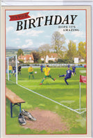Football It's Your Birthday Hope It's Amazing Birthday Card