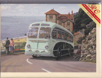 Seagull Bus At Ventnor Greetings Card - Malcolm Root