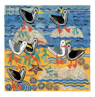 Seagulls Greetings Card - Susie Lacome