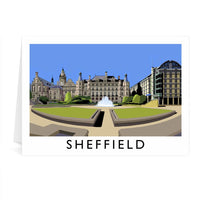 Sheffield Greetings Card - Richard O'Neill
