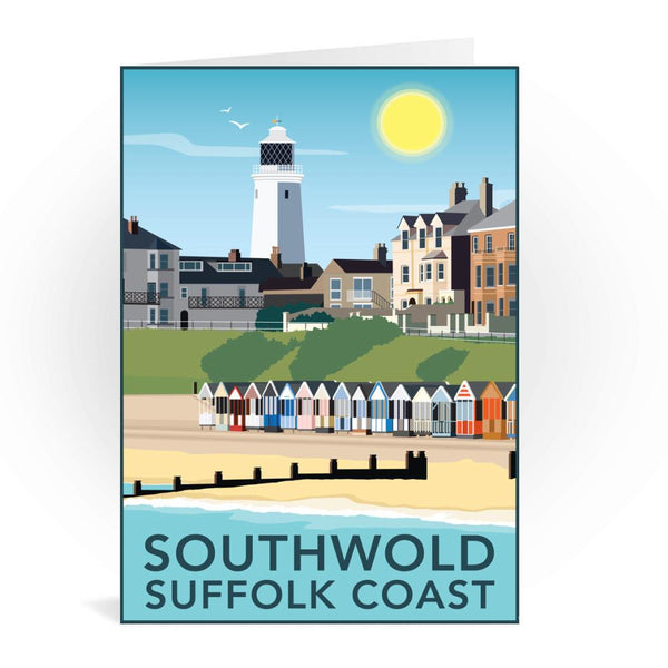 Southwold Suffolk Coast Greetings Card - Tabitha Mary