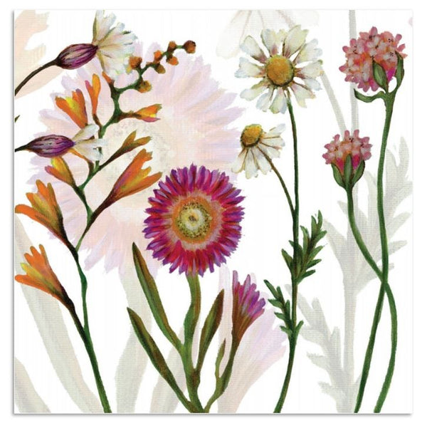 Spring Flowers Greetings Card - Caroline Cleave