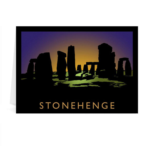Stonehenge Greetings Card - Richard O'Neill