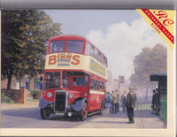 Sunderland Crossley Bus Greetings Card - Malcolm Root